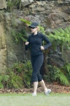 Nicole Kidman Goes for very early morning jog in Sydney April 25-2015 x17