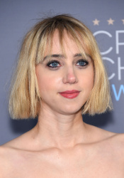 Zoe Kazan - 21st Annual Critics' Choice Awards @ Barker Hangar in Santa Monica - 01/17/15