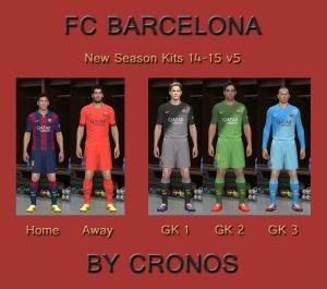 Download Barcelona 14-15 Kits v5 by cRoNoS