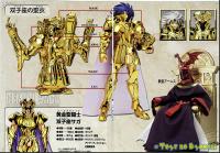 Gemini Saga Gold Cloth AcheaY7C
