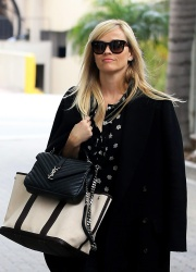Reese Witherspoon - Arrives at her office in Beverly Hills 1/4/17