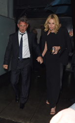 Sean Penn - Charlize Theron and Sean Penn - seen leaving Royal Festival Hall. London - February 16, 2015 (153xHQ) JScoRi5Q