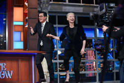 Tilda Swinton - The Late Show with Stephen Colbert: June 7th 2017