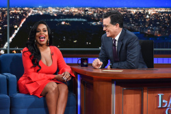 Niecy Nash - The Late Show with Stephen Colbert: August 9th 2017
