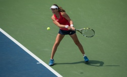 Johanna Konta - 2015 US Open Day Four: 2nd Round vs. Garbine Muguruza @ BJK National Tennis Center in Flushing Meadows - 09/03/15