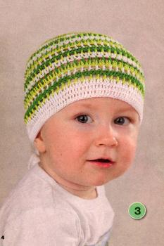 Вязание летних шапочек для детей