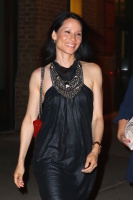 Lucy Liu - Leaving her hotel in New York City 6/16/16