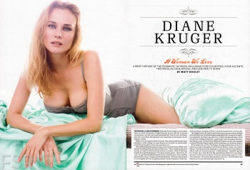 Diane Kruger - Esquire Magazine - August 2013