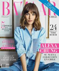 Alexa Chung -                Harper's Bazaar Magazine (Chile) August 2017 Tomas Reid Photos.