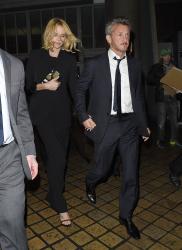 Sean Penn - Charlize Theron and Sean Penn - seen leaving Royal Festival Hall. London - February 16, 2015 (153xHQ) 9p0LeIhW