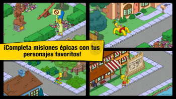Descargar Simpsons Tapped Out Android Android + Crack Rosquillas Infinitas Gratis