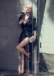 Caroline Vreeland - model / singer various pics x11 - 4Oct2016