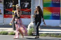 Nina Dobrev with Hilary at Alfred Coffee & Kitchen in West Hollywood (July 29) Qgzu7524