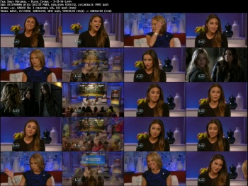 Shay Mitchell - Katie Couric - 3-13-14