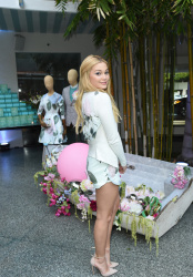 Olivia Holt - Ted Baker London's SS15 launch in Beverly Hills 3/4/15