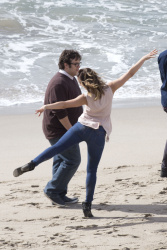 Katharine McPhee on the set of Scorpion in Malibu - 11/18/14