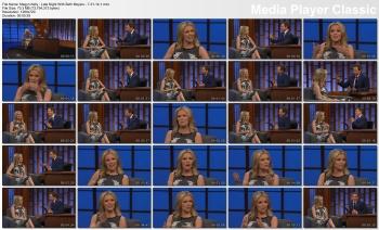 Megyn Kelly - Late Night With Seth Meyers - 7-31-14