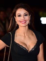Melanie Sykes - Ronaldo World Premiere @ Vue West End in London - 11/09/15