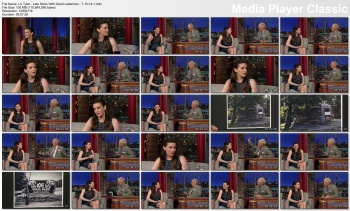 Liv Tyler - Late Show With David Letterman - 7-15-14