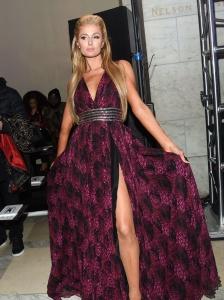 Paris Hilton - Phillip Plein show, Fall Winter 2017, New York Fashion Week - February 13th 2017