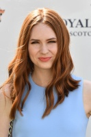 Karen Gillan -                   Sentebale Royal Salute Polo Cup Singapore June 5th 2017.