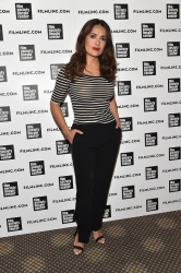 Salma Hayek - 2015 Film Society of Lincoln Center Summer Talks in NYC 8/5/15