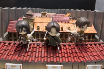 AnimeJapan 2014 Shingeki no Kyojin Action Figures