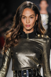 Joan Smalls - BALMAIN X H&M Collection Launch @ 23 Wall Street in NYC - 10/20/15