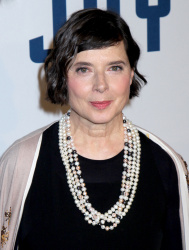 Isabella Rossellini - Joy New York Premiere @ Ziegfeld Theater in NYC - 12/13/15