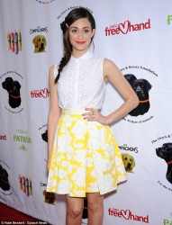 Emmy Rossum - Saving Tails soiree in Hollywood 4/13/13