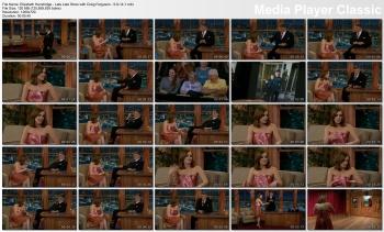Elizabeth Henstridge - Late Late Show with Craig Ferguson - 5-9-14