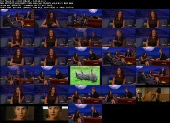 Maggie Q - Conan O'Brien - 3-12-14 (long legs)