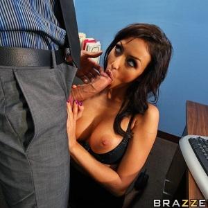 Big Tits At Work Breanne Benson