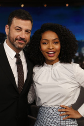 Yara Shahidi - Jimmy Kimmel Live: March 20th 2017