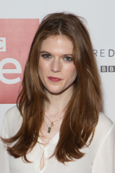 Rose Leslie - Luther Photocall @ Picturehouse Central in London - 11/12/15