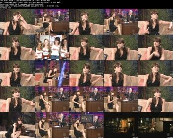 Selma Blair - Tonight Show with Jay Leno - 8-12-05  (super leggy)