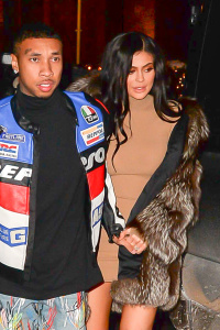 Kylie Jenner - Out For Dinner With Tyga In NYC - February 10th