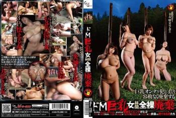 GVG-343 - Ayase Miami, Fukami Serina, Hazuki Mion, Kururugi Mikan - Big-Titted Masochistic Women Dumped Naked In Woods