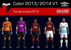 Download PES 2013 KITS COLÓN 2013/2014 V1 BY XENEIZE_10