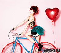Hyun-a (4Minute) - Cosmopolitan Korea 11/2012 (4x) + The Bling Korea 12/2012 (8x)