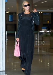 Paris Hilton - arrived at the Incheon International Airport in South Korea July 17 2014
