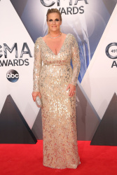 Trisha Yearwood - 49th Annual CMA Awards @ the Bridgestone Arena in Nashville - 11/04/15
