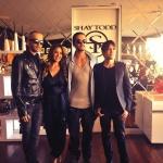 [31.07.13] Bill & Tom en el pre-lanzamiento de la colección 2014 de Shay Todd en Los Ángeles Adh2afN4
