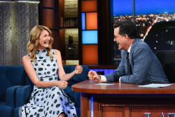 Laura Dern - The Late Show with Stephen Colbert: August 7th 2017