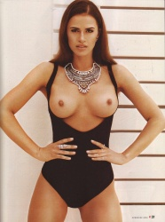 Degrazia naked angie Angie Harmon
