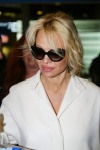 Pamela Anderson is seen arriving at Roissy CDG airport in Paris January 19-2016 x20