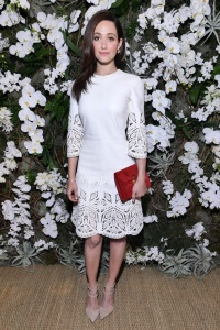 Emmy Rossum - Ralph Lauren show, Fall Winter 2017, New York Fashion Week - February 15th 2017