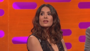 Salma Hayek The Graham Norton Show 06/03/16