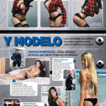 Daniela Fainus Revista H Marzo 2017 | the4um.com.mx