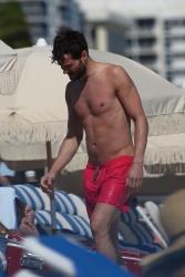 Jamie Dornan - At the beach with his girlfriend, Amelia Warner in Miami - January 17, 2013 - 25xHQ IVHQ5Qx5